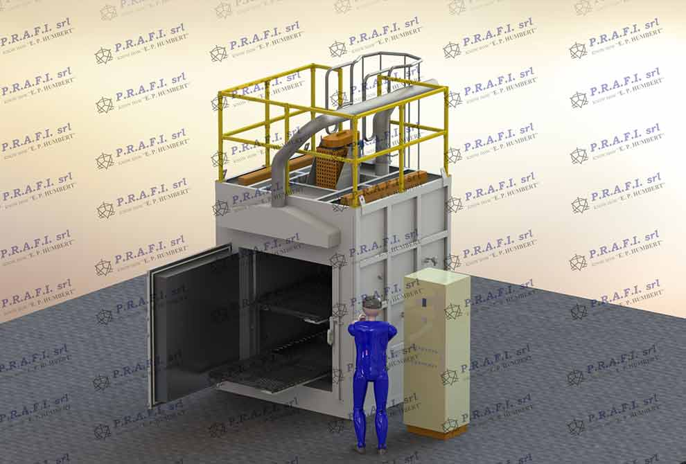Manual chamber furnaces for normalizing