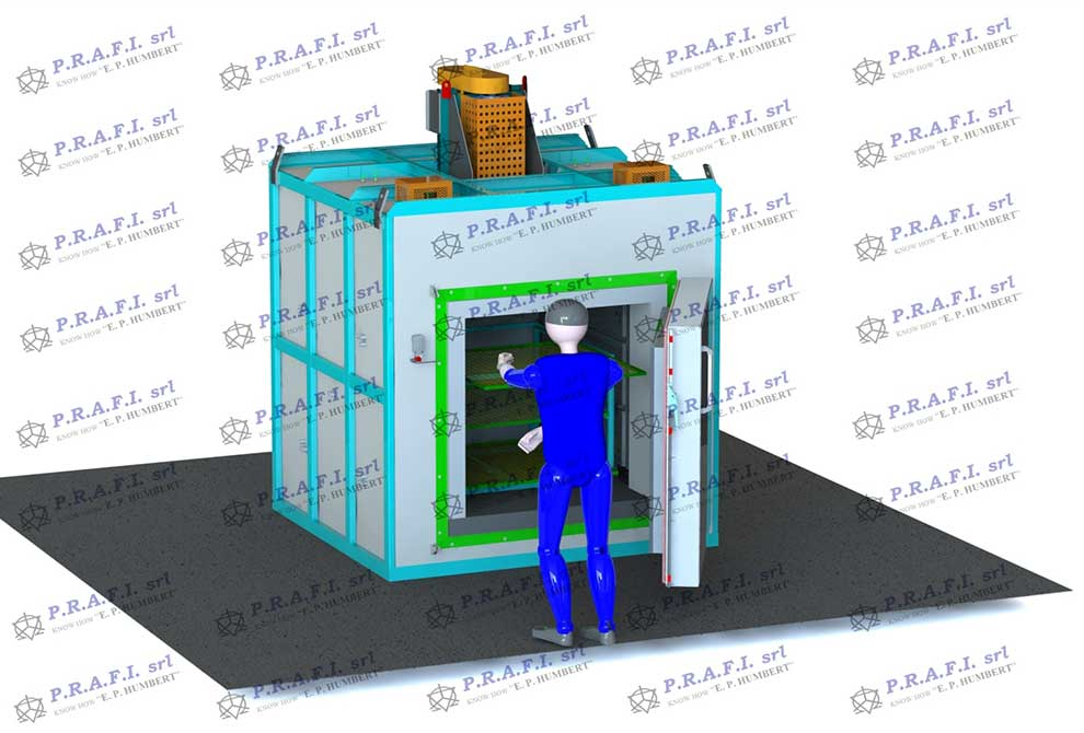Manual chamber furnaces for precipitation hardening