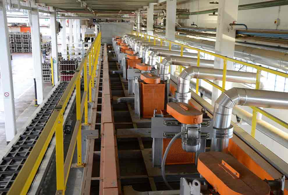 PRAFI Continuous roller furnaces.